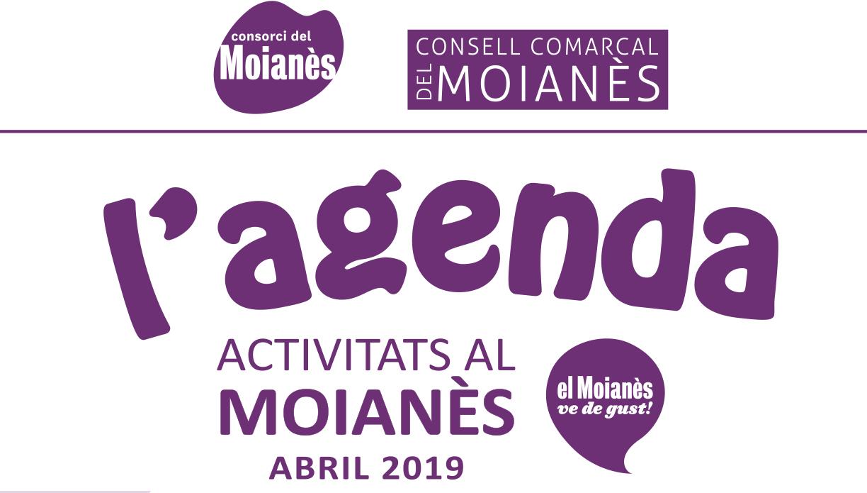 Agenda d'activitats Abril 2019
